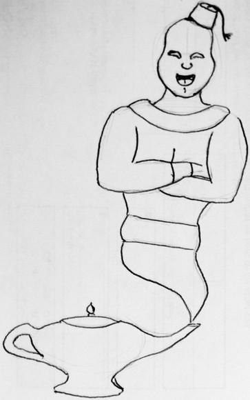 Genie Sketch